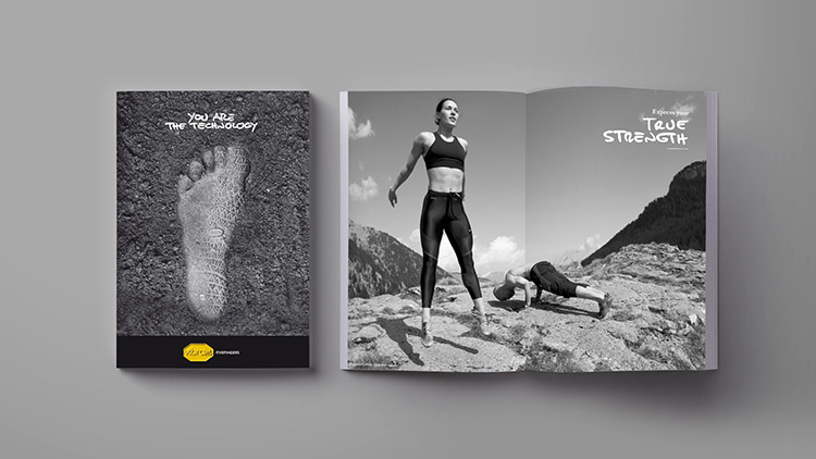 agenzia comunicazione milano shooting photography fotografia vibram fivefingers you are the technology
